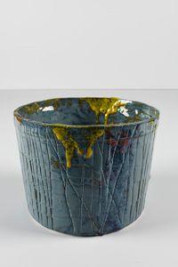 Untitled Small Planter 4 by Rashid Johnson contemporary artwork ceramics