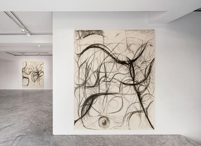 Exhibition view: Peppi Bottrop,schwarze schraube deutschland, PKM Gallery, Seoul (17 February–20 March 2021). Courtesy PKM Gallery.