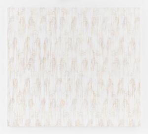White - RFGA by Ghada Amer contemporary artwork