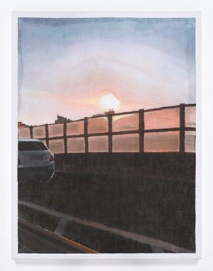 A Landscape Seen on a 'Tada' at a Dusk by Hyewon Kim contemporary artwork