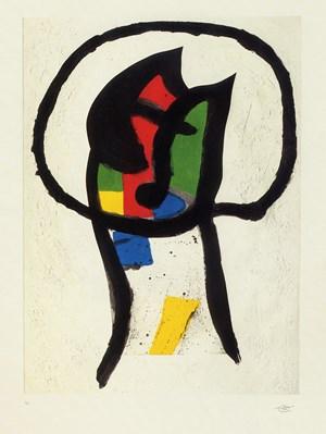 Prédicateur (Le) by Joan Miró contemporary artwork print