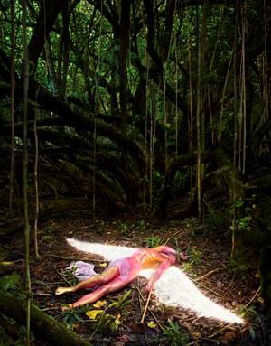 What Was Unseen by David LaChapelle contemporary artwork