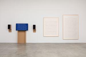 Manifestos 3 by Charles Gaines contemporary artwork