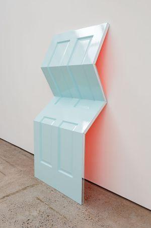 Peacenik (Afterglow) by Jim Lambie contemporary artwork