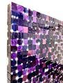 Purple Grid by Katsumi Hayakawa contemporary artwork 3