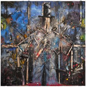 Prophet in the Storm by Jim Dine contemporary artwork painting, works on paper