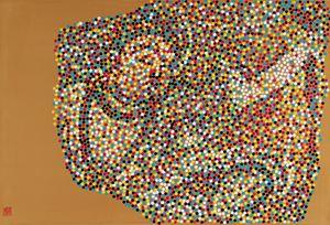 CMYK-中国新疆地区佛教壁画 by Yang Mian contemporary artwork