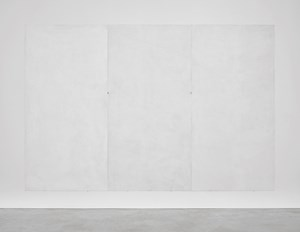 Mur blanc RAL ( + ................ ) en trois volets by Emmanuelle Quertain contemporary artwork