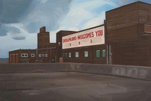 Dreamland welcomes you III by Lena Johansson contemporary artwork