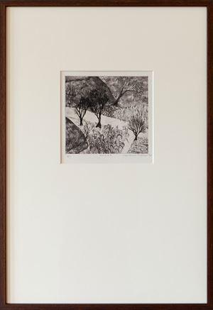 Morning by Mrinalini Mukherjee contemporary artwork print