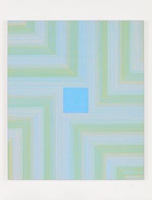 House 11 (Cerulean) by Peter Peri contemporary artwork