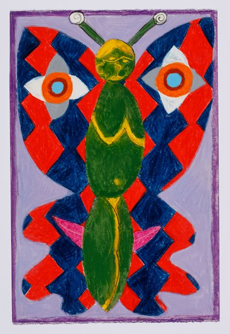 Untitled (moth) #26 by Brendan Huntley contemporary artwork