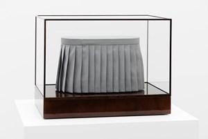 Skirt sculpture by Michaël Borremans contemporary artwork