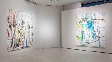Contemporary art exhibition, Gregor Gleiwitz, Monstera - I'm sitting on the edge of my eye at SETAREH, Düsseldorf, Germany