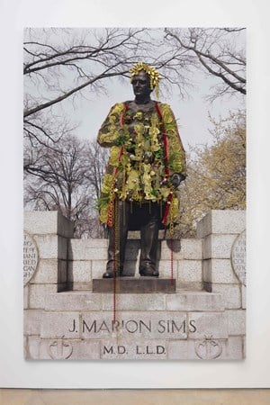 J. Marion Sims, Central Park by Hew Locke contemporary artwork
