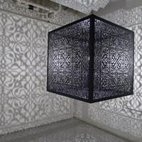 Shimmering Mirage by Anila Quayyum Agha contemporary artwork sculpture