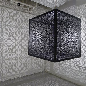 Shimmering Mirage by Anila Quayyum Agha contemporary artwork