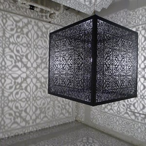 Shimmering Mirage by Anila Quayyum Agha contemporary artwork