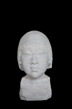 Absorption - A Blooming Girl by Li Hongbo contemporary artwork