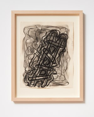 Ladder and Step Series #19 by Basil Beattie contemporary artwork