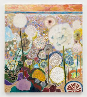 Sweet Sweet Fantasy by Shara Hughes contemporary artwork