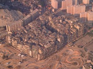 'Aerial View #1', City of Darkness, Hong Kong by Ian Lambot contemporary artwork