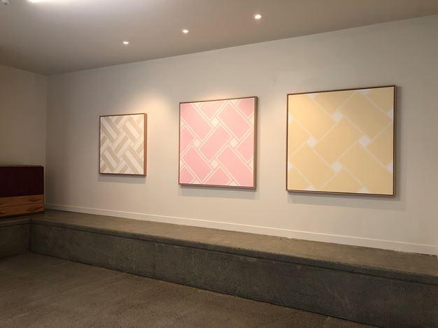 Exhibition view: Ian Scott,Minimal Lattices 1978–1988, Hamish McKay Gallery (9–30 November 2019). Courtesy Hamish McKay Gallery.