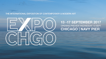 Contemporary art exhibition, EXPO Chicago 2017 at Perrotin, Paris