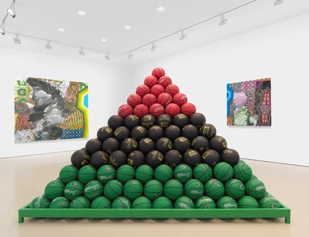Exhibition view: David Huffman, Miles McEnery Gallery, West 21st Street, New York (14 November–21 December 2019). Courtesy Miles McEnery Gallery.