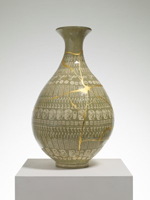The Huhne Vase by Grayson Perry contemporary artwork