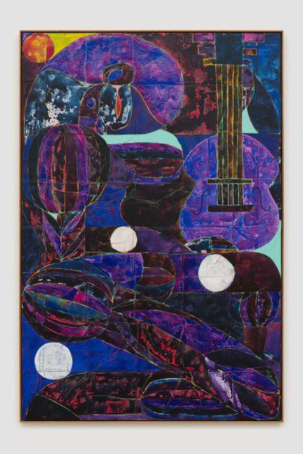 cæcilie plays the cello by Alexander Tovborg contemporary artwork