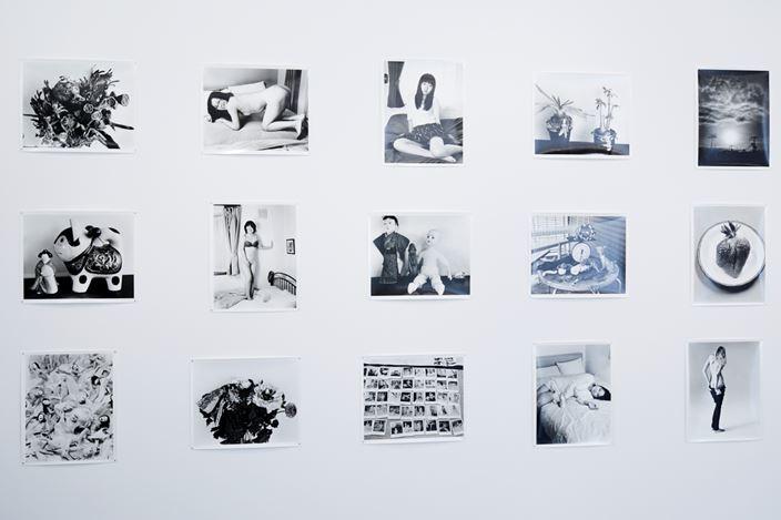 Exhibition view: Nobuyoshi Araki, Love-Dream, Love-Nothing, Taka Ishii Gallery, Tokyo (May 25-June 23, 2018). Courtesy Taka Ishii Gallery. Photo: Kenji Takahashi.