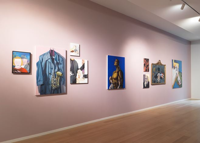 Exhibition view, An Uncanny Likeness, 2017. Image courtesy Simon Lee Gallery, New York.