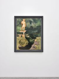 Arkadien (Clitunno) by Markus Lüpertz contemporary artwork mixed media