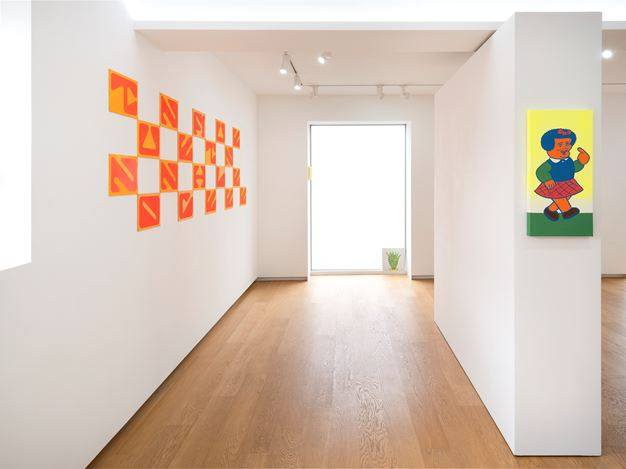 Exhibition view: NONCHELEEE,TUNE FI TUNE, Whistle, Seoul (7 February–14 March 2020). Courtesy the artist and Whistle.