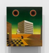 Studies into the Past by Laurent Grasso contemporary artwork painting