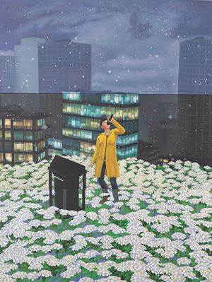 Home Sweet Home: Snowy Karaoke 1 by Mak Ying Tung 2 contemporary artwork