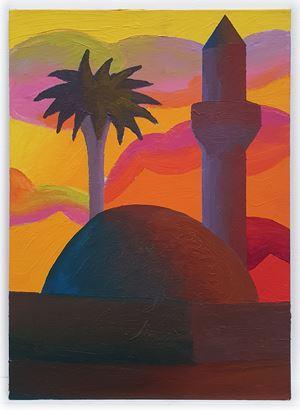 Minareto by Salvo contemporary artwork