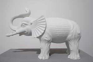 The Elephant (in the dark) by Babak Golkar contemporary artwork