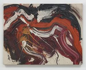 Kaku Rou (Threatening Wolf) by Kazuo Shiraga contemporary artwork