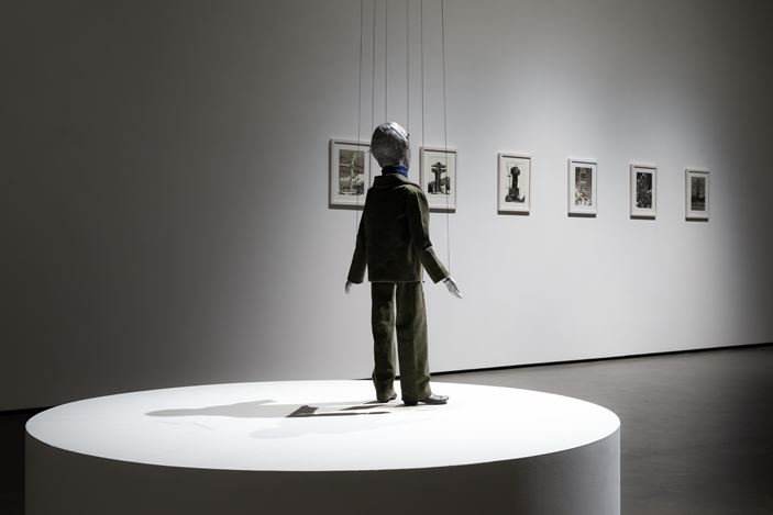 Exhibition view: Group Exhibition, Homage to Korea,Wooson Gallery, Daegu (27 June–7 September 2019).Courtesy Wooson Gallery.