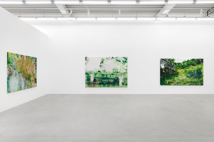 Exhibition view: Alexandre Lenoir, Sur le fil / On the Edge, Almine Rech, Brussels (15 October–19 December 2020). Courtesy the Artist and Almine Rech.