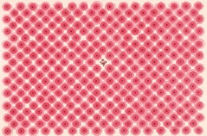 3-D Halo Dots 暈點3D by Nan Qi contemporary artwork