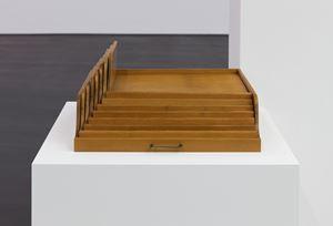 Becoming a Row by Roman Ondak contemporary artwork
