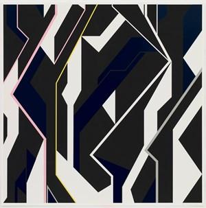 Vertical Power 2 by Sarah Morris contemporary artwork