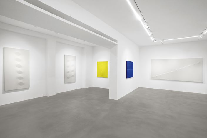 Exhibition view: Turi Simeti, Turi Simeti. Works 1960 - 2020, Dep Art Gallery, Milan (8 September–22 December 2020). Courtesy Dep Art Gallery.