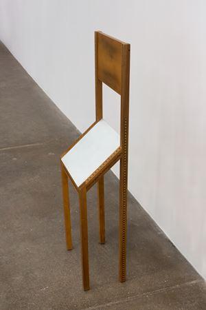 Singer, sedia per visite brevissime, Zanotta by Bruno Munari contemporary artwork