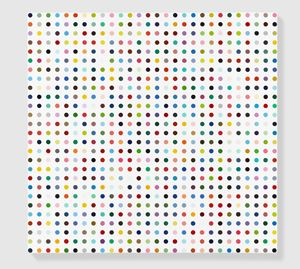 Pentoxifylline by Damien Hirst contemporary artwork