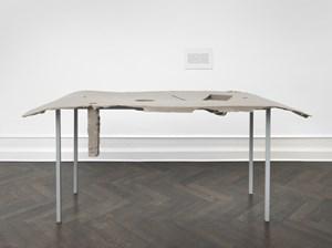 Formage de tête (Réchaud D) & (Étiquette) by Nairy Baghramian contemporary artwork
