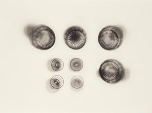 Fox Talbot's Articles of Glass (bottoms up) by Cornelia Parker contemporary artwork